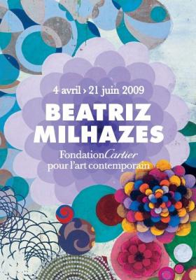 Beatriz Milhazes, Fondation Cartier, Paris, Milk Mel, Collage monumental