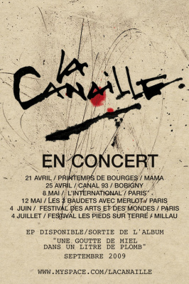 Canaille, Paris, International, Concert