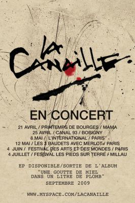 Canaille, Paris, International, Concert