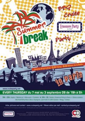 Summer Break, Paris, Erasmus, Rivers King, Soirée, Clubbing
