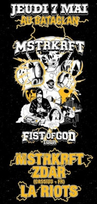 MSTRKRFT, Fist of God Tour, Zdar, Bataclan