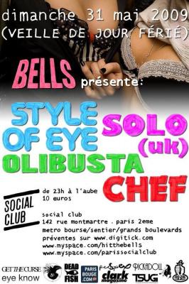 Bells, Get he Curse, Social Club, Paris