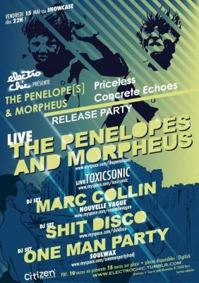 Priceless Concrete Echoes, The Penelopes, Morpheus, Showcase