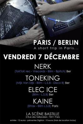 Paris et Berlin a short trip in Paris