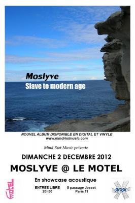 MOSLYVE @ LE MOTEL en showcase acoustique