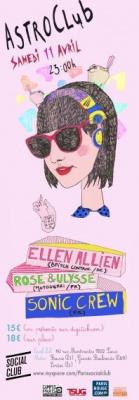 Social Club, Astroclub, Soirée, Ellen Allien
