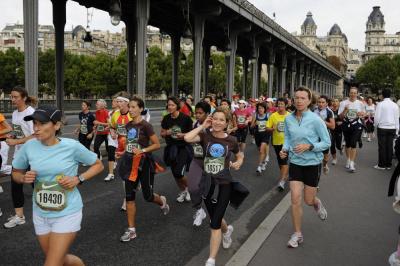 La Parisienne, Sport, Course à pied
