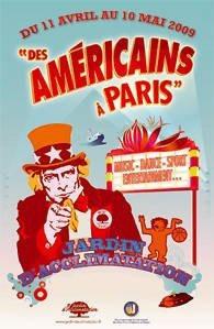 Sport, Loisirs, Jardin d'Acclimatation, Paris, Des Américains à Paris
