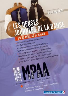 Denses journées de la danse, MPAA, Danse, Art, Culture