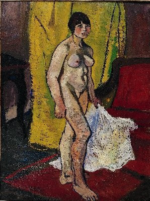 Suzanne Valadon, La draperie blanche, Peinture, Exposition, Pinacothèque