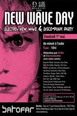 Soirée, Batofar, New Wave Day