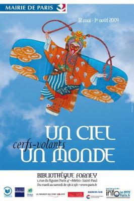 Un ciel, un monde, Cerf-volant, Exposition, Musée, Asie