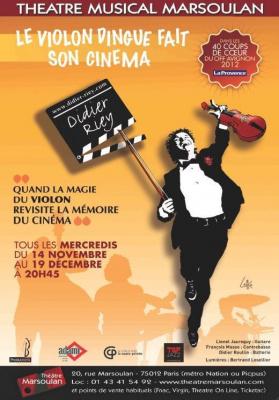 Le Violon Dingue fait son Cinéma aved Didier Riey
