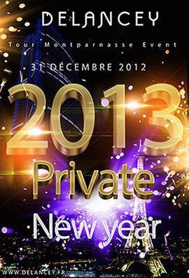 Tour Montparnasse :  Réveillon Delancey Nouvel An 2013