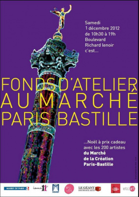 Les fonds d'atelier Bastille 2012