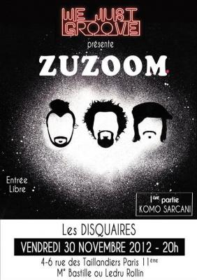 We Just Groove 7 - Concert Zuzoom + Komo Sarcani (1ère partie)
