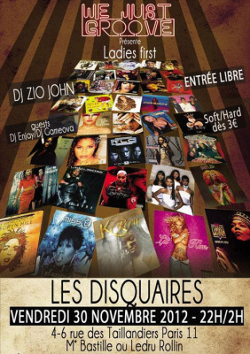 We Just Groove 7 - Soirée Hip Hip LADIES FIRST!
