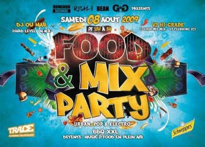 Food & Mix Party, Soirée, Paris, Libertalia
