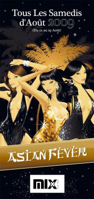 Asian Fever, Mix, Paris, Soirée, Août
