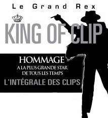 King Of Clip, King of Pop, Michael Jackson, Grand Rex, Paris