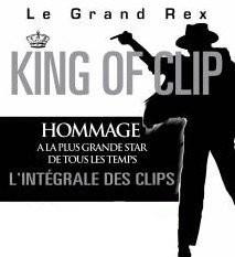 King Of Clip, King of Pop, Michael Jackson, Grand Rex, Paris