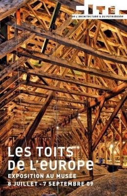 Toits de l'Europe, Palais Chaillot, Exposition, Charpenterie, Paris