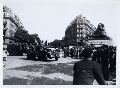 Libération de Paris, 65ème anniversaire, Cérémonie, Hôtel de Ville, Bertrand Delanoë
