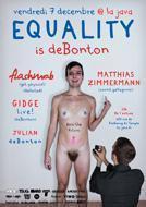 EQUALITY IS DEBONTON