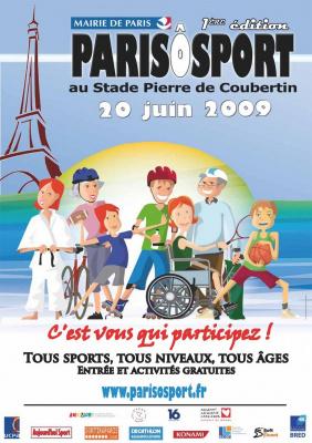 Paris O Sport - Affiche