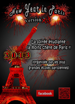 NEW YEAR in PARIS version 3 (2013)