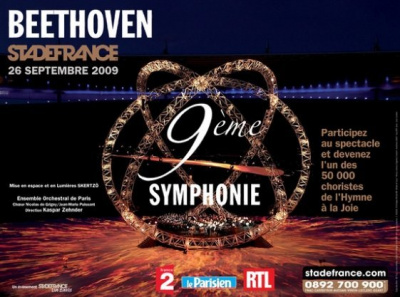 Spectacles, Paris, Stade de France, 9ème Symphonie, Beethoven