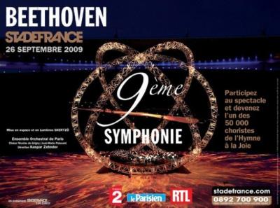 Spectacles, Paris, Stade de France, 9ème Symphonie, Beethoven
