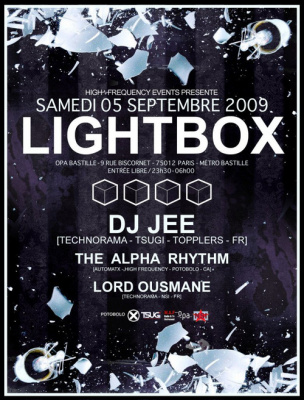 Light Box, Soirée, OPA, Paris, Clubbing