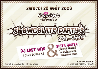 Showcolate Party, Chocolat, La Croche, Soirée, Paris, Clubbing