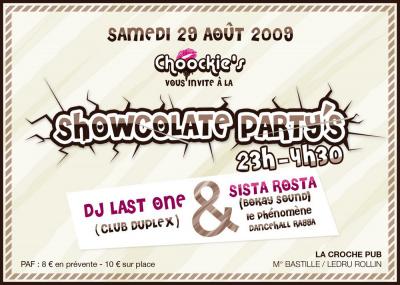 Showcolate Party, Chocolat, La Croche, Soirée, Paris, Clubbing