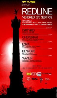 Red Line Party, Soirée, OPA, Paris, Clubbing