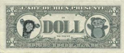 In Doll We Trust, l'Art de rien, Paris, Galerie, Exposition