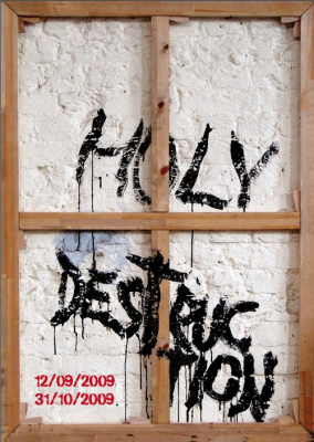 Holy Destruction, Galerie Polad-Hardouin, Paris, Exposition, Figuation, Peinture