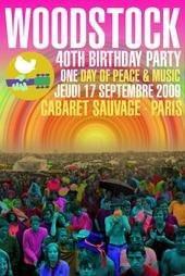 Woodstock Party, Paris, Soirée, Cabaret Sauvage