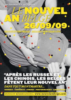 Nouvel An Belge, Paris, Soirées, Elysée Montmartre