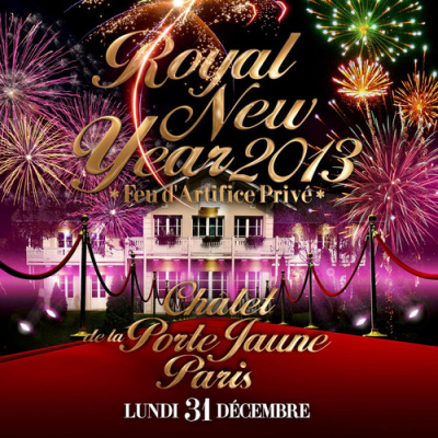 "ROYAL NEW YEAR "" FEU D'ARTIFICE PRIVÉ """