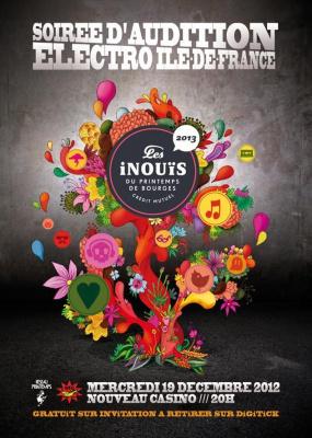 audition Inouïs électro idf du Printemps de Bourges