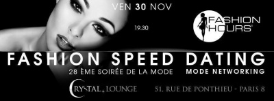 Fashion Speed Dating par Fashion Hours
