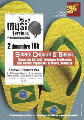 soirée Choeur et Brésil