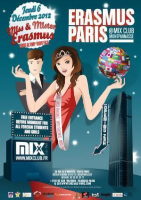 Erasmus Paris : Miss  & Mister Erasmus