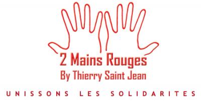 2 mains rouges