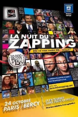 Nuit du Zapping, saison 6, Solidarité Sida, Canal +, 20 ans du Zapping, Paris, Zenith, Zapping