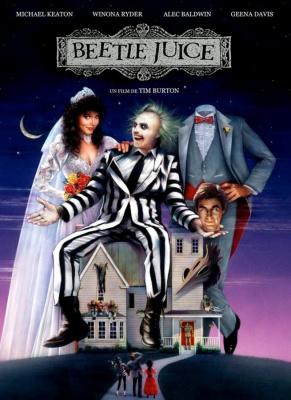 Beetlejuice, Tim Burton, Cinéma, 20e anniversaire, Michael Keaton, Geena Davis, Alex Baldwin, Winona Ryder