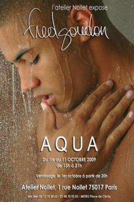 Aqua, Fred Goudon, Photographies, Dieux du Stade, Exposition, Paris, Atelier Nollet