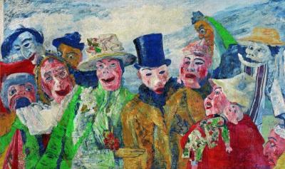James Ensor, musée d'Orsay, Exposition, Paris